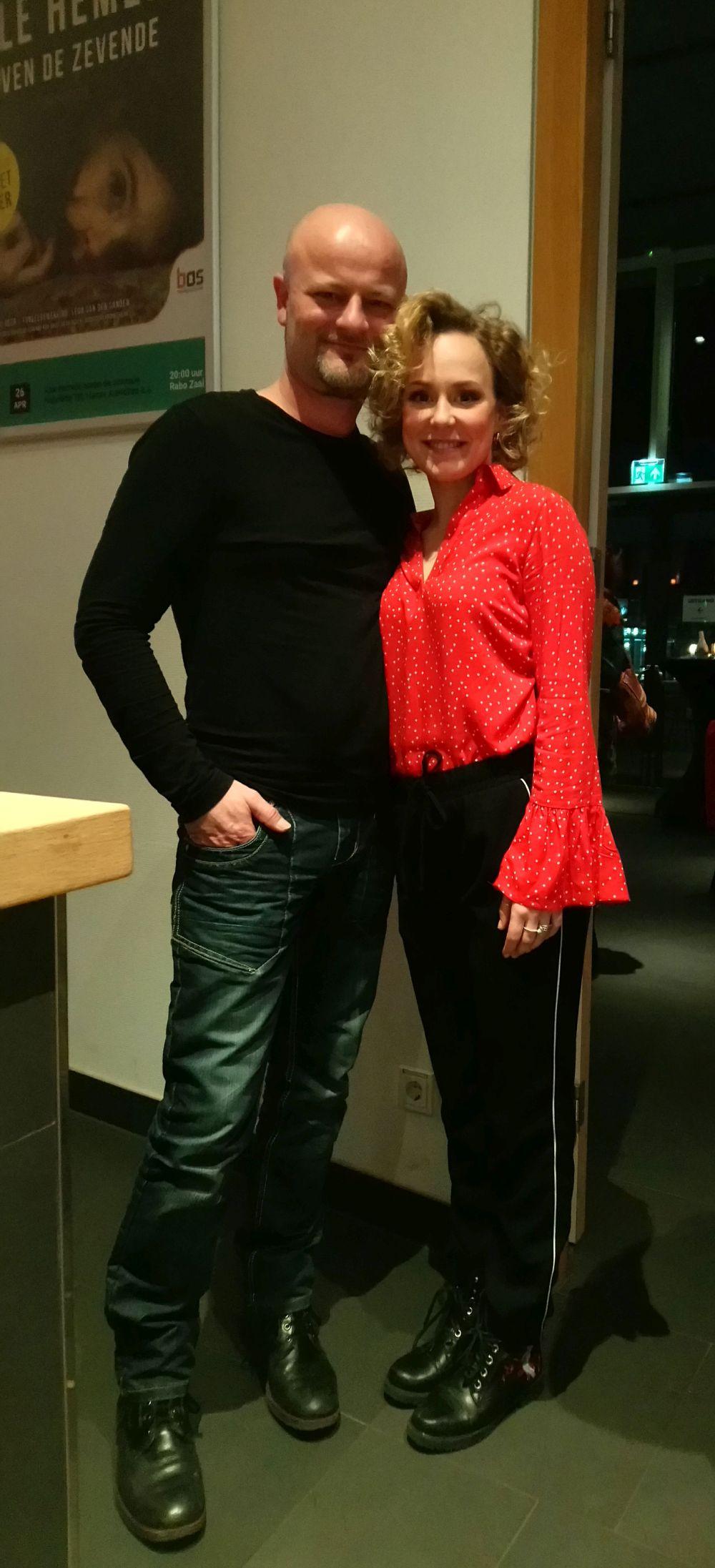 Willemijn Maandag en Bert Kamping